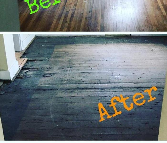 Hardwood Floor tear out After